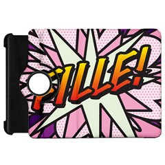 Comic Book Fille! Kindle Fire Hd Flip 360 Case by ComicBookPOP