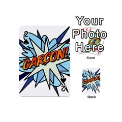 Comic Book Garcon! Playing Cards 54 (Mini)  by ComicBookPOP