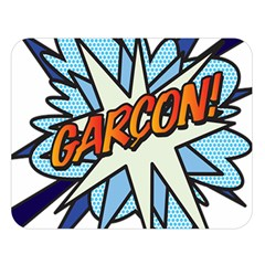 Comic Book Garcon! Double Sided Flano Blanket (Large)