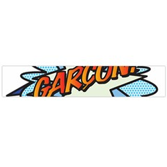 Comic Book Garcon! Flano Scarf (Large)  by ComicBookPOP