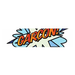 Comic Book Garcon! Satin Scarf (Oblong) by ComicBookPOP