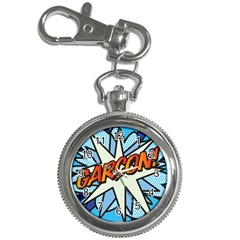 Comic Book Garcon! Key Chain Watches by ComicBookPOP