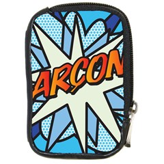 Comic Book Garcon! Compact Camera Cases by ComicBookPOP