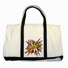 Comic Book Mine! Two Tone Tote Bag  by ComicBookPOP
