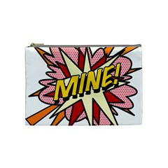 Comic Book Mine! Cosmetic Bag (medium)  by ComicBookPOP