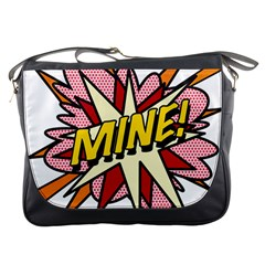 Comic Book Mine! Messenger Bags by ComicBookPOP