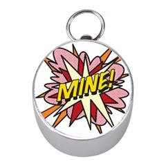 Comic Book Mine! Mini Silver Compasses by ComicBookPOP