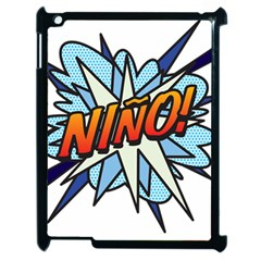 Comic Book Nino! Apple iPad 2 Case (Black) by ComicBookPOP