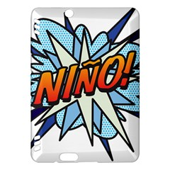 Comic Book Nino! Kindle Fire HDX Hardshell Case by ComicBookPOP