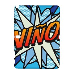 Comic Book Nino! Samsung Galaxy Note 10 1 (p600) Hardshell Case by ComicBookPOP