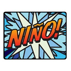 Comic Book Nino! Double Sided Fleece Blanket (Small)  by ComicBookPOP