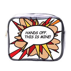 Hands Off Mini Toiletries Bags by ComicBookPOP