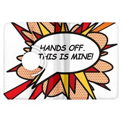 Hands Off Kindle Fire HDX Flip 360 Case by ComicBookPOP