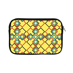 Shapes On A Yellow Background Apple Ipad Mini Zipper Case by LalyLauraFLM