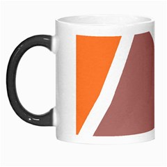 Misc Shapes In Retro Colors Morph Mug by LalyLauraFLM