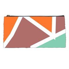 Misc Shapes In Retro Colors Pencil Case by LalyLauraFLM