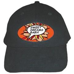 Sweet Dreams Baby!  Black Cap by ComicBookPOP