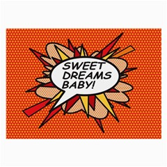Sweet Dreams Baby!  Large Glasses Cloth (2-Side) by ComicBookPOP