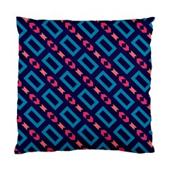 Rectangles And Other Shapes Pattern Standard Cushion Case (two Sides) by LalyLauraFLM