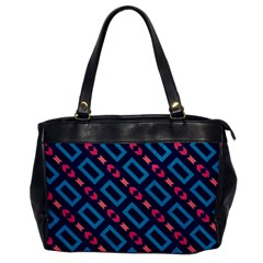 Rectangles And Other Shapes Pattern Oversize Office Handbag by LalyLauraFLM