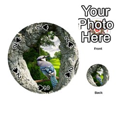 Bird In The Tree 2 Playing Cards 54 (round)  by infloence