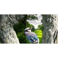 Bird In The Tree 2 You Are Invited 3d Greeting Card (8x4)  by infloence
