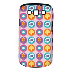Chic Floral Pattern Samsung Galaxy S Iii Classic Hardshell Case (pc+silicone) by creativemom