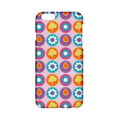 Chic Floral Pattern Apple Iphone 6/6s Hardshell Case by creativemom