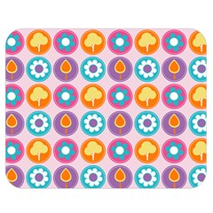 Chic Floral Pattern Double Sided Flano Blanket (medium)  by creativemom