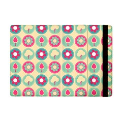 Chic Floral Pattern Apple Ipad Mini Flip Case by creativemom