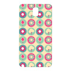 Chic Floral Pattern Samsung Galaxy Note 3 N9005 Hardshell Back Case by creativemom