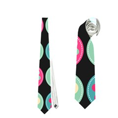 Chic Floral Pattern Neckties (two Side)