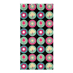 Chic Floral Pattern Shower Curtain 36  x 72  (Stall)
