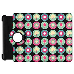 Chic Floral Pattern Kindle Fire Hd Flip 360 Case by creativemom