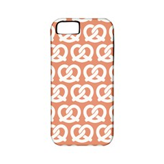 Salmon Pretzel Illustrations Pattern Apple Iphone 5 Classic Hardshell Case (pc+silicone) by creativemom