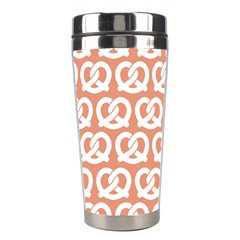 Salmon Pretzel Illustrations Pattern Stainless Steel Travel Tumblers by creativemom