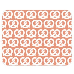 Salmon Pretzel Illustrations Pattern Double Sided Flano Blanket (medium)  by creativemom