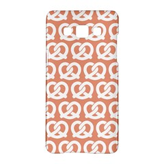 Salmon Pretzel Illustrations Pattern Samsung Galaxy A5 Hardshell Case  by creativemom
