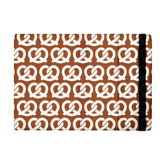 Brown Pretzel Illustrations Pattern iPad Mini 2 Flip Cases by creativemom