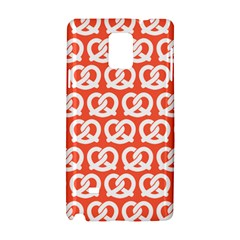 Coral Pretzel Illustrations Pattern Samsung Galaxy Note 4 Hardshell Case by creativemom