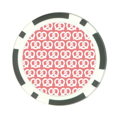 Chic Pretzel Illustrations Pattern Poker Chip Card Guards (10 Pack)  by creativemom