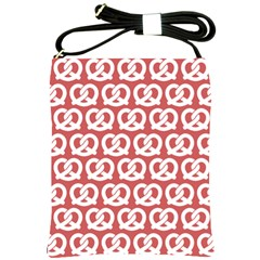 Trendy Pretzel Illustrations Pattern Shoulder Sling Bags by creativemom