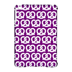 Purple Pretzel Illustrations Pattern Apple Ipad Mini Hardshell Case (compatible With Smart Cover) by creativemom