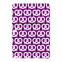 Purple Pretzel Illustrations Pattern Samsung Galaxy Tab Pro 12 2 Hardshell Case by creativemom