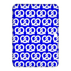 Blue Pretzel Illustrations Pattern Samsung Galaxy Tab 4 (10.1 ) Hardshell Case  by creativemom