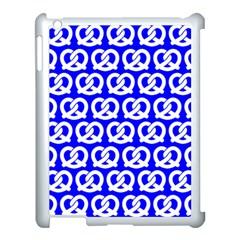 Blue Pretzel Illustrations Pattern Apple Ipad 3/4 Case (white) by creativemom