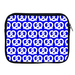Blue Pretzel Illustrations Pattern Apple Ipad 2/3/4 Zipper Cases by creativemom