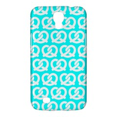 Aqua Pretzel Illustrations Pattern Samsung Galaxy Mega 6 3  I9200 Hardshell Case by creativemom