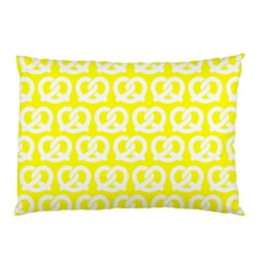 Yellow Pretzel Illustrations Pattern Pillow Cases (two Sides) by creativemom