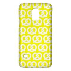 Yellow Pretzel Illustrations Pattern Galaxy S5 Mini by creativemom